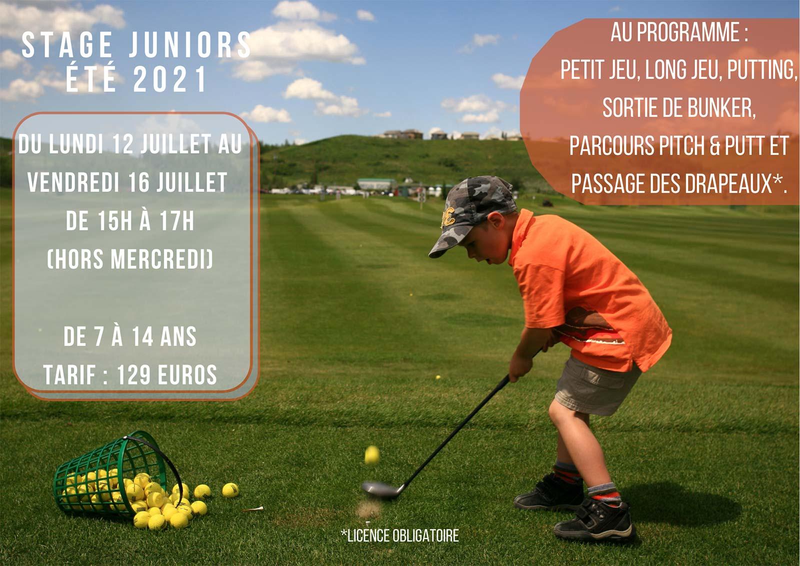 stage junior 12-juillet-au-16-juillet